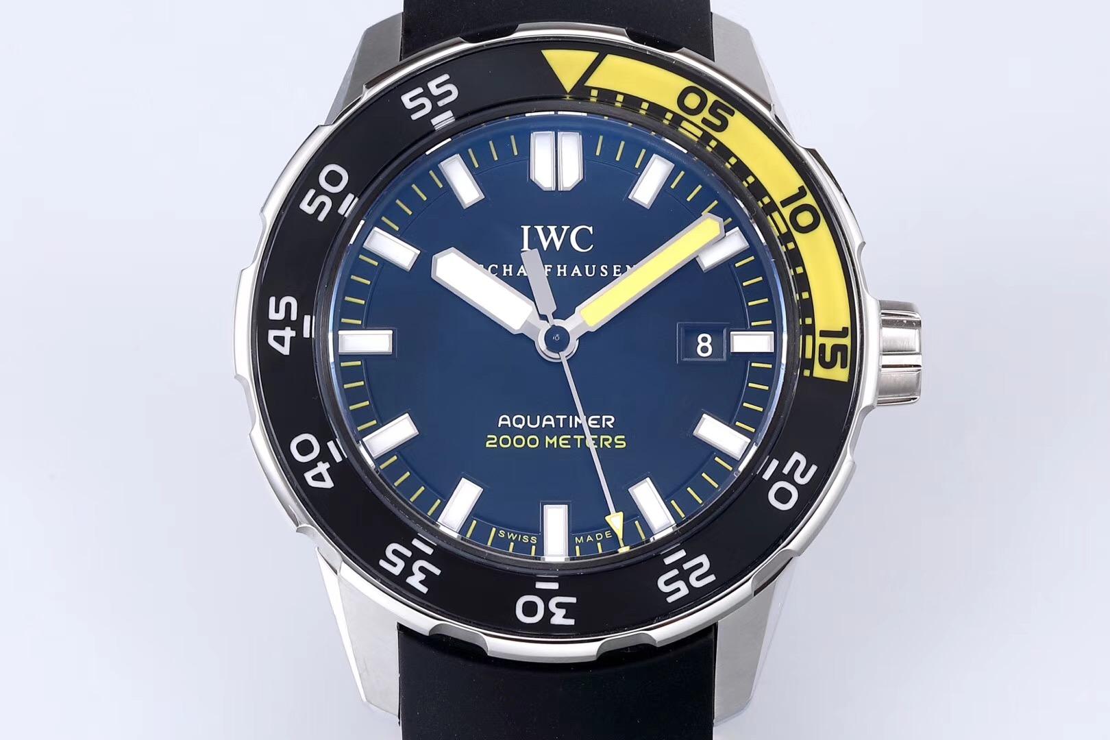 万国海洋时计IW356802超强夜光复刻表真假评测