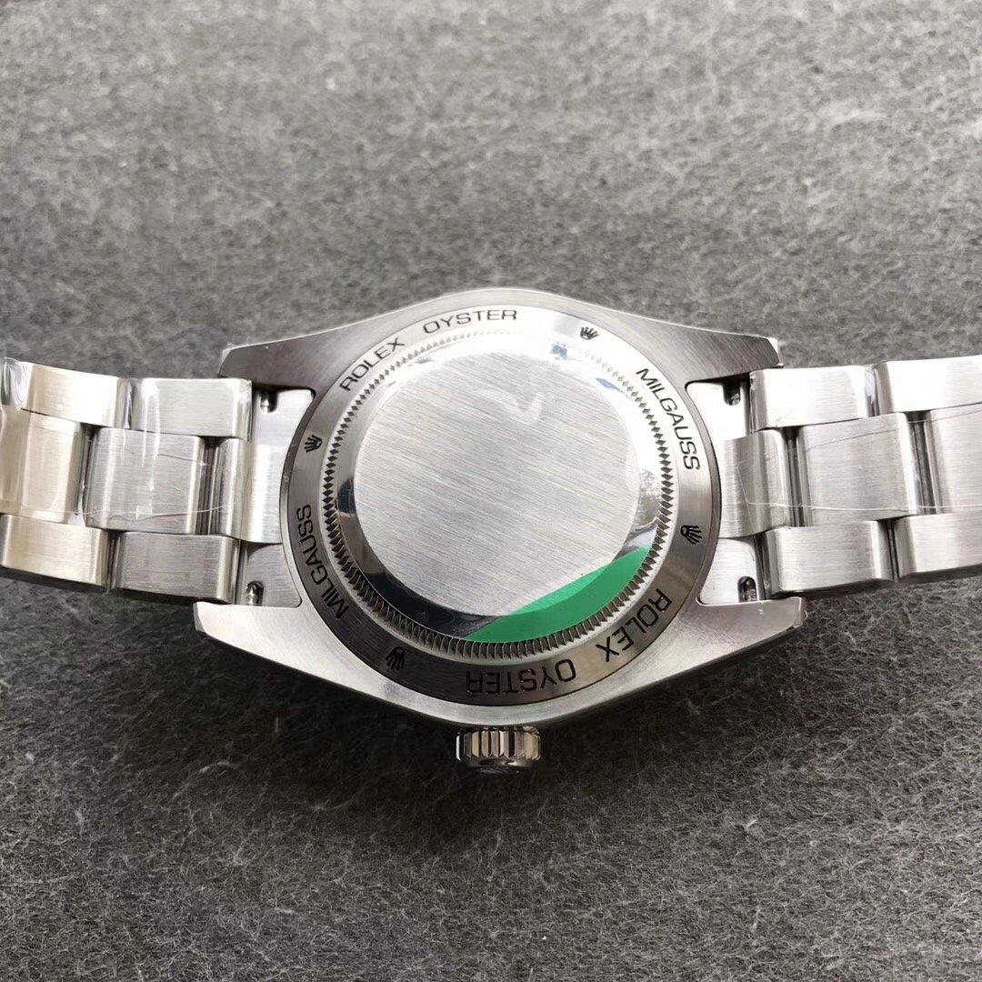 AR劳力士闪电绿玻璃黑面顶级复刻