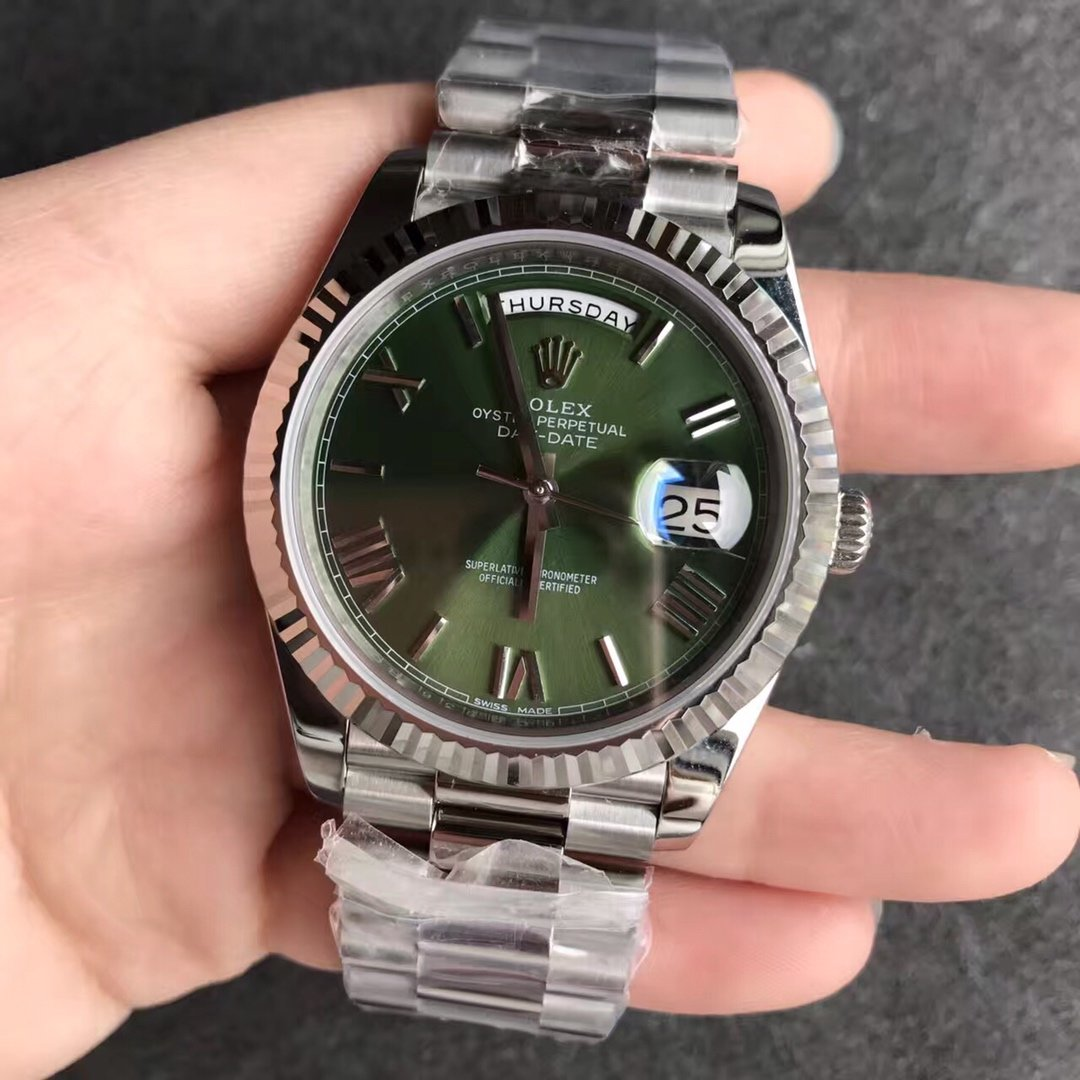 N厂劳力士星期日历型复刻手表40直径3255机芯
