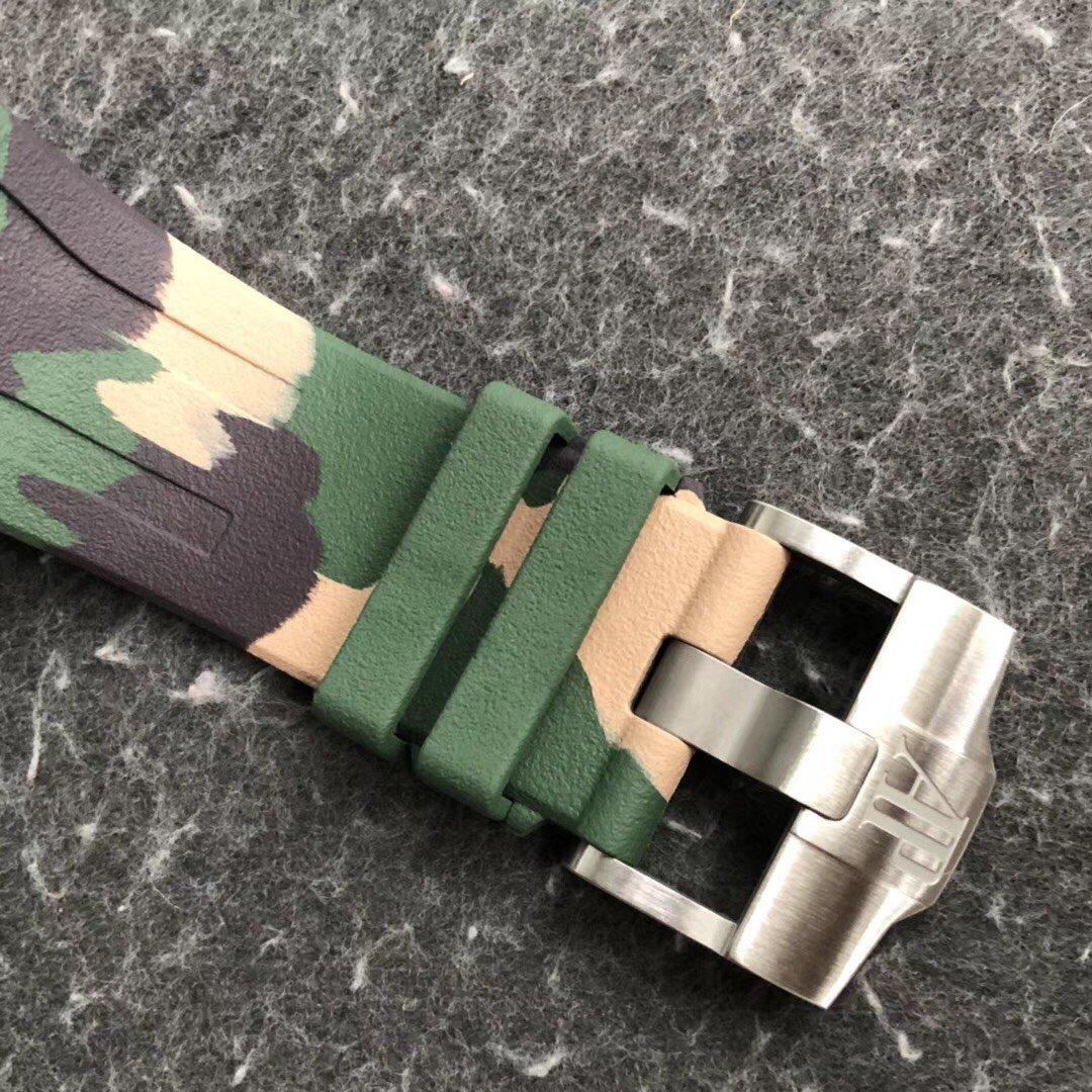 JF爱彼皇家橡树离岸型26400军绿 男士顶级复刻