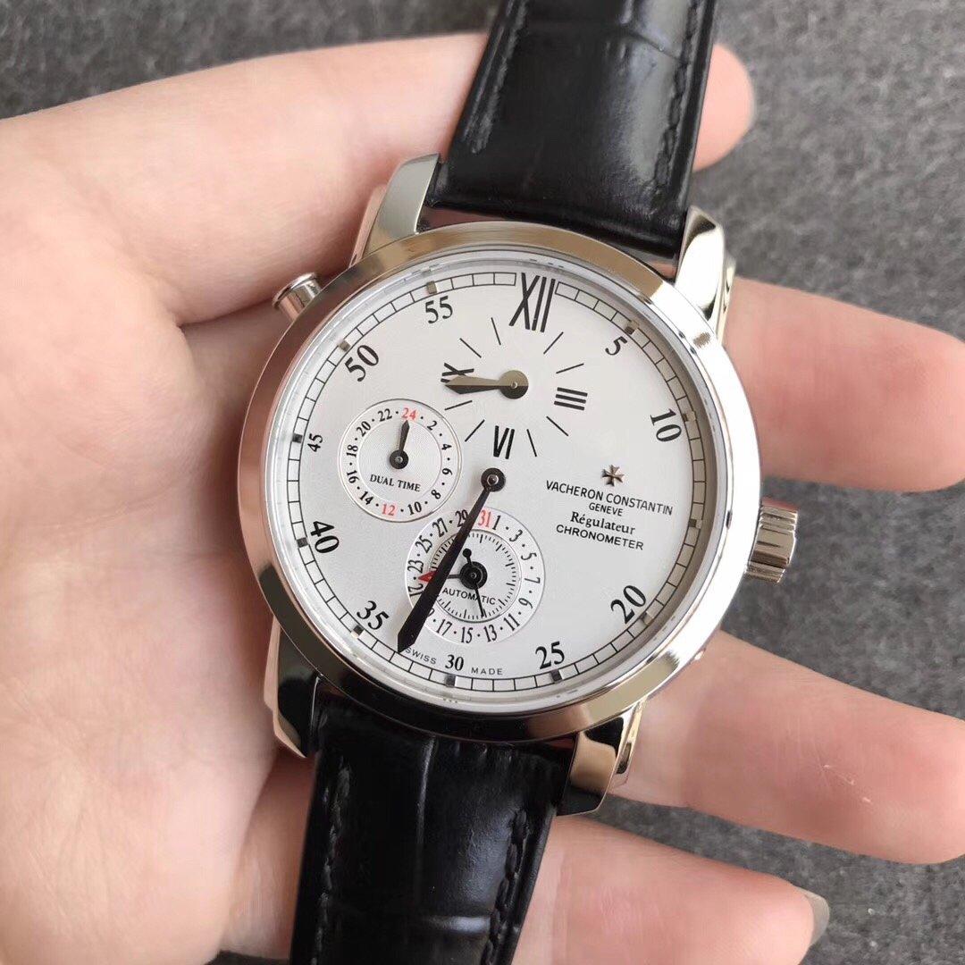 K11江诗丹顿马耳他系列42005两地时腕表复刻表