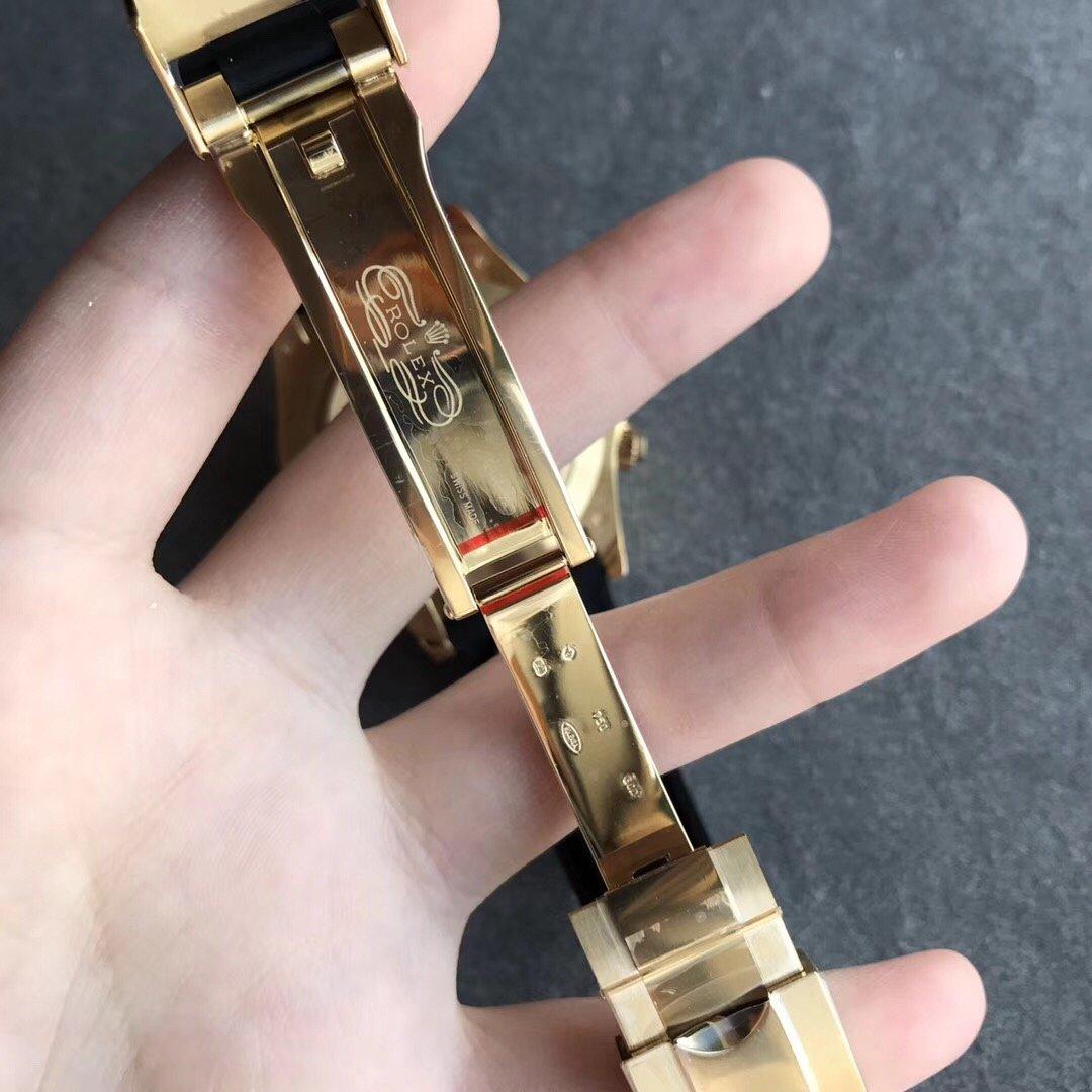 n厂劳力士迪通拿顶级复刻表4130机芯硅胶表带功能厚度均一致