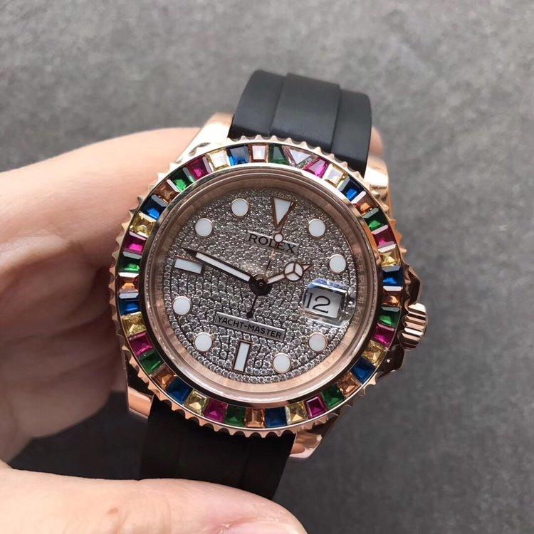 劳力士金游艇Rolex m116655-0005满天星