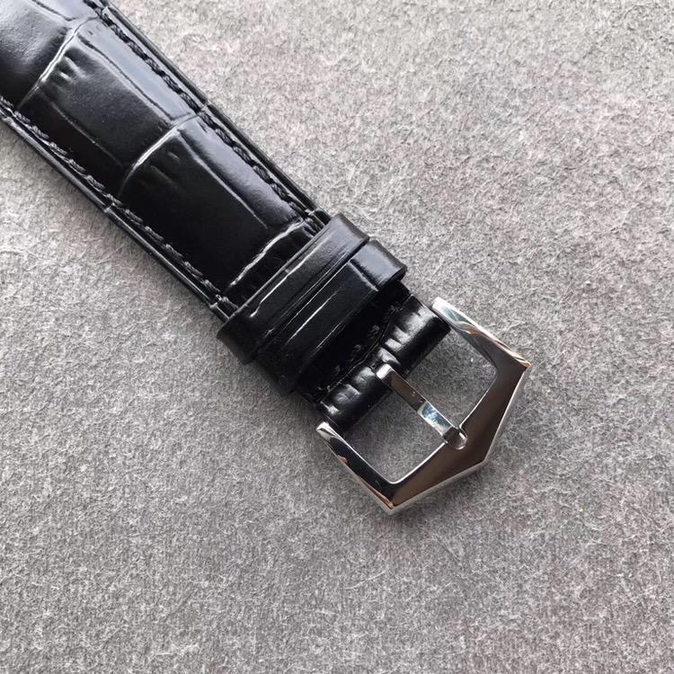 KM百达翡丽复杂功能计时复刻表5205G方钻黑面黑皮