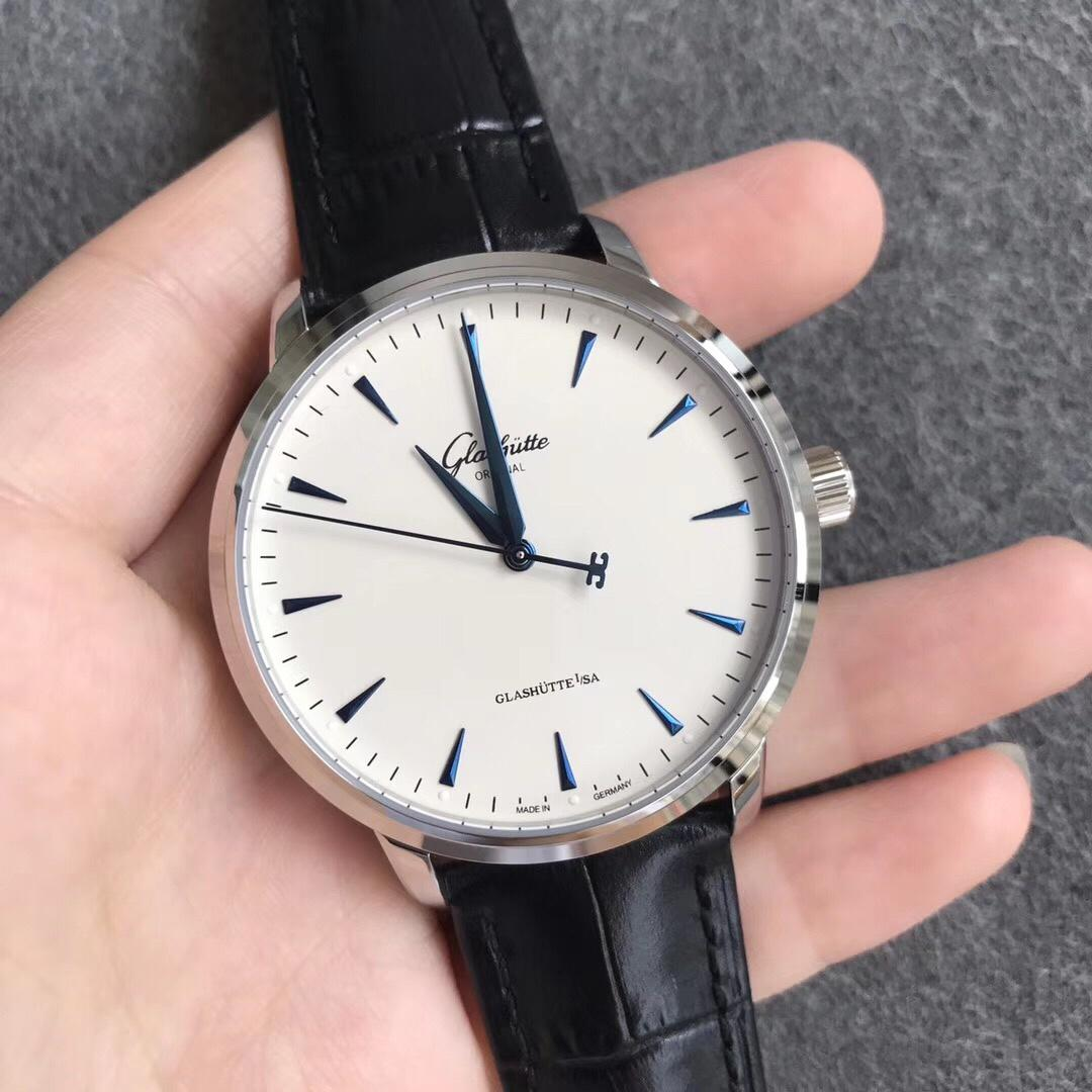 ETC格拉苏蒂原创议员卓越系列腕表限量版白盘