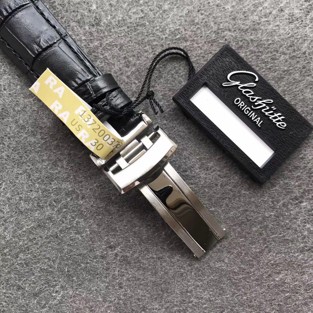 ETC格拉苏蒂原创议员卓越系列腕表限量版深蓝表盘