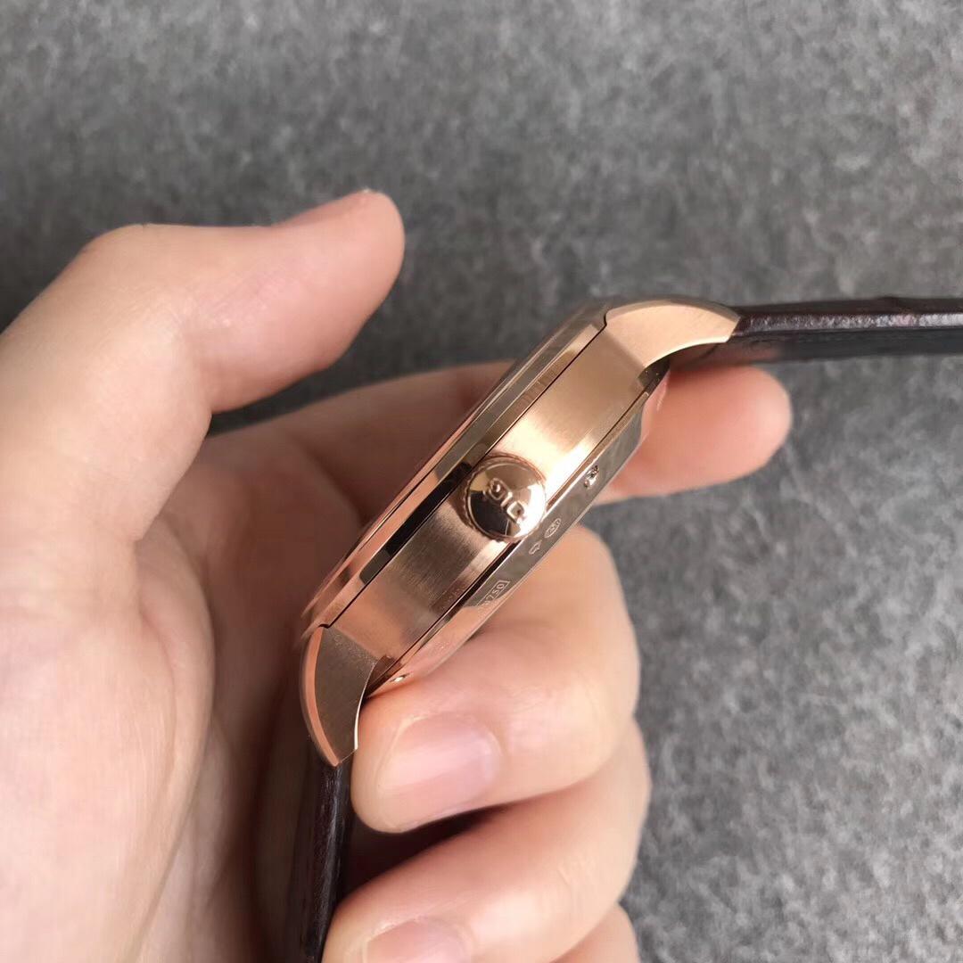 ETC格拉苏蒂原创议员卓越系列腕表限量版玫瑰金深蓝
