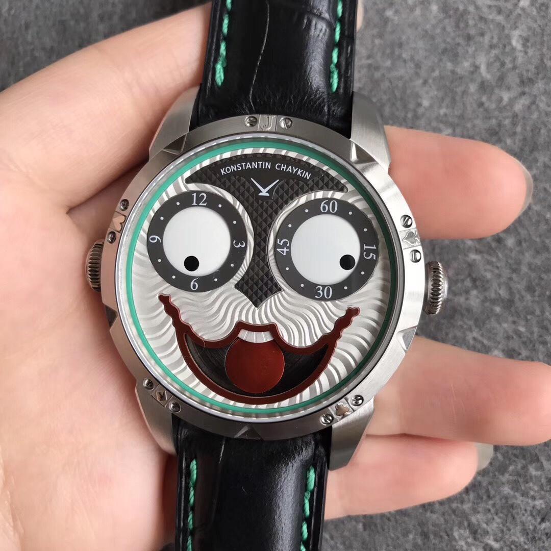 V9厂俄罗斯小丑康斯坦丁切金 直径42 独特机械手表