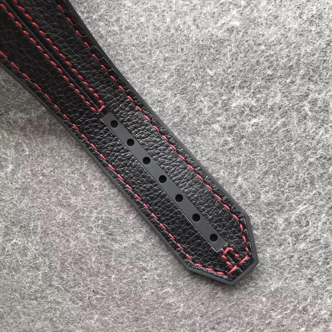 V6宇舶法拉利碳纤维 直径45.5 运动机械表