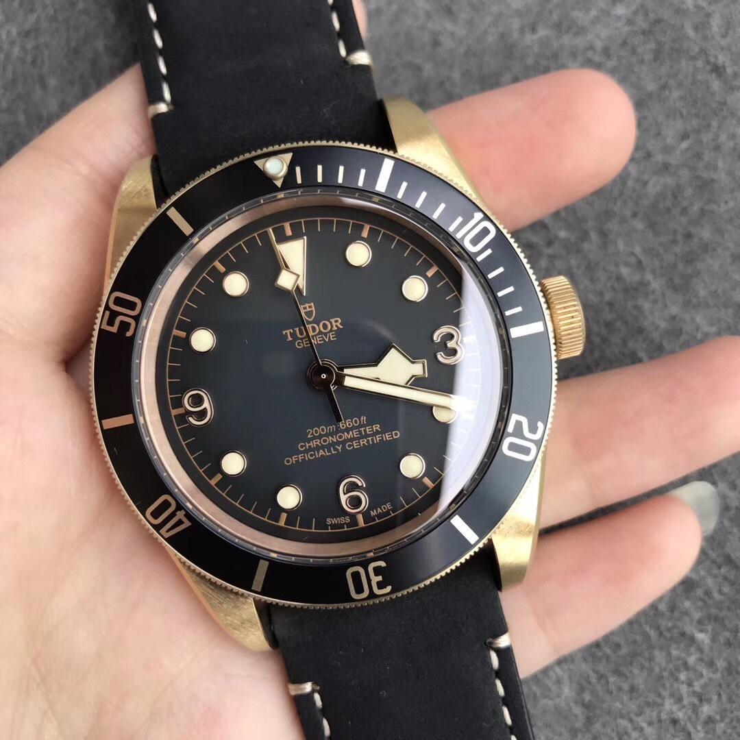 XF厂帝舵碧湾青铜型M79250BA-0001腕表