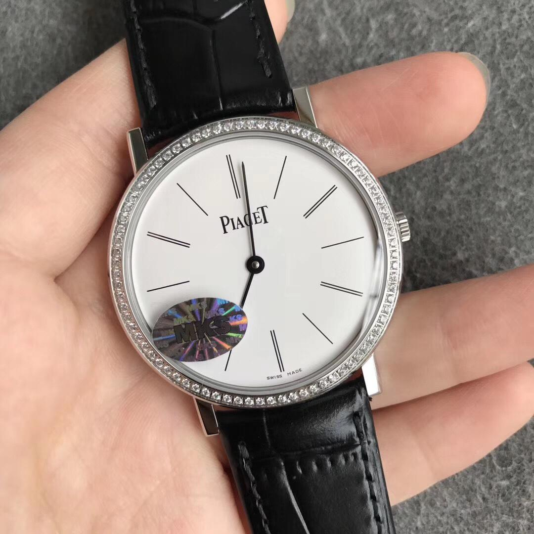 MKS伯爵Altiplano系列经典超薄机械男士简洁手表