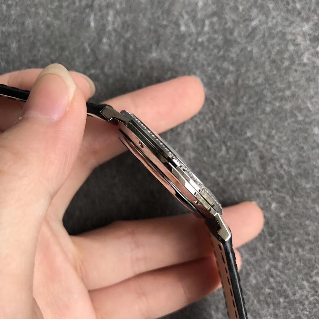 MKS伯爵Altiplano系列经典超薄机械男士简洁手表(黑盘)