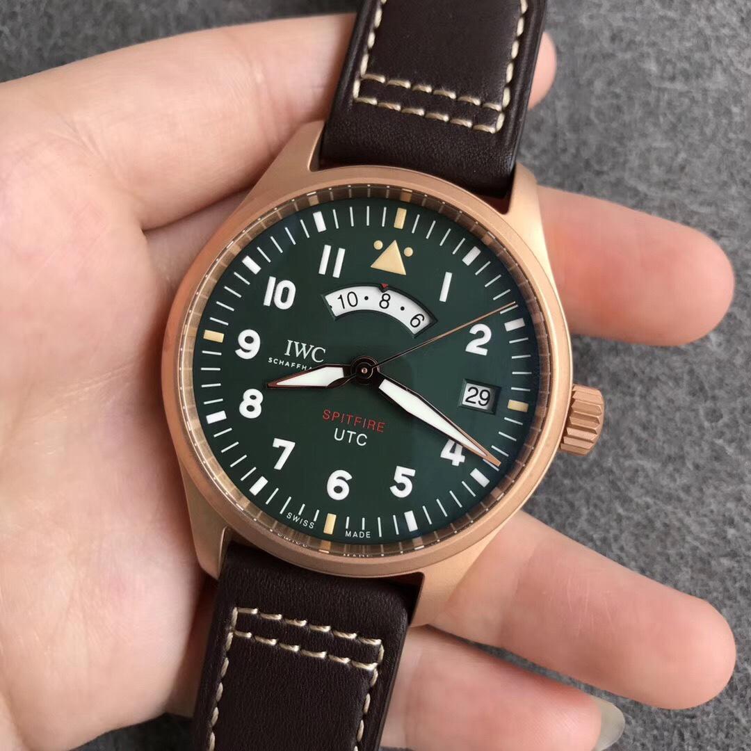 XF万国表飞行员系列IW327101复刻青铜男表