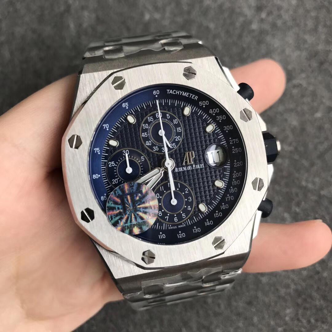 JF爱彼皇家橡树离岸型系列26237ST.OO.1000ST.01腕表25周年男士手表