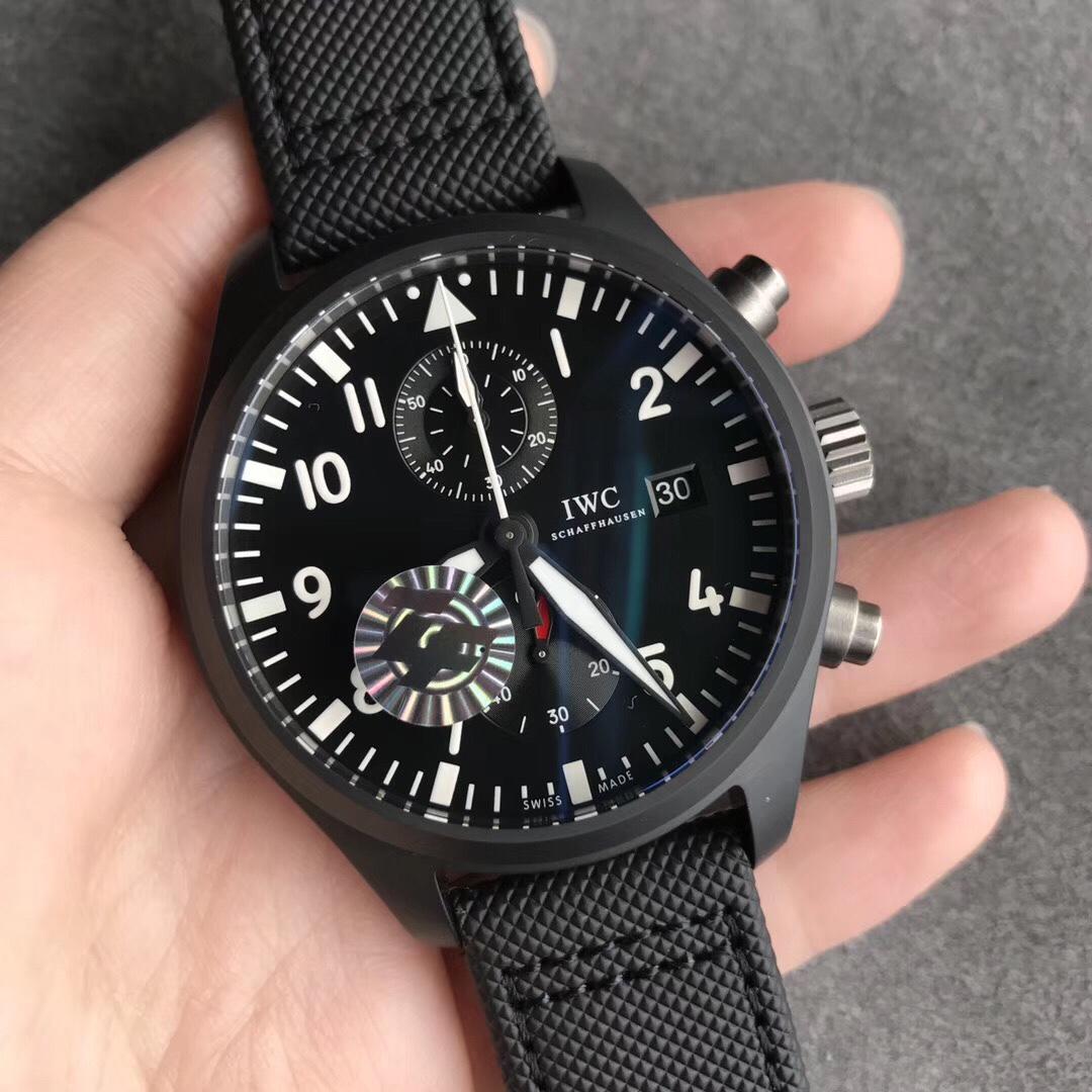 ZF万国飞行员系列海军空战部队黑科技44大表盘复刻表