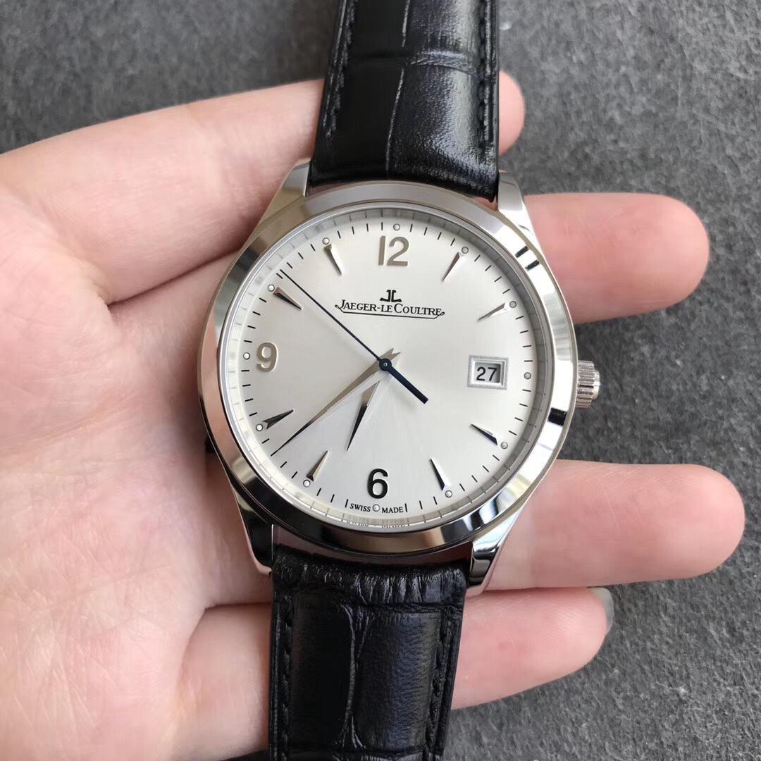 ZF厂积家超薄复刻大师1548420男款 直径39mm自动机械皮带手表