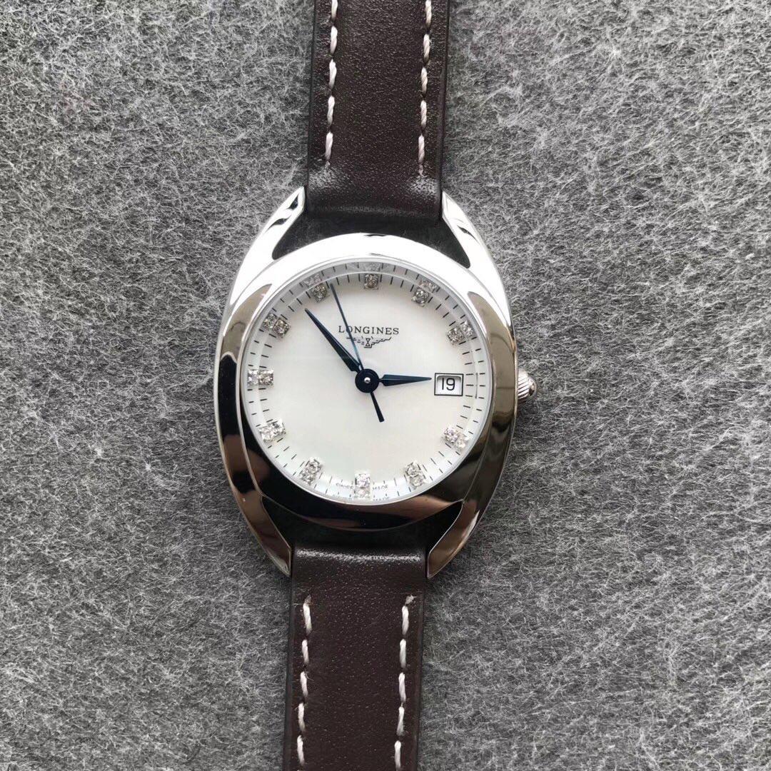 GS浪琴马术复刻表系列骑仕女士手表石英高品质镶钻