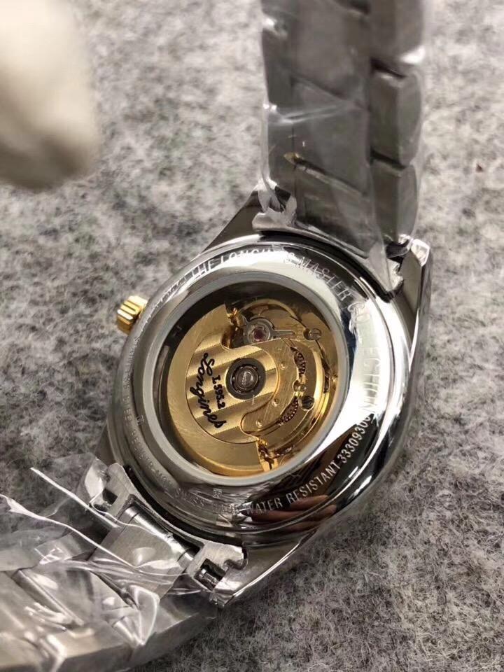 浪琴名匠瑞士ETA2671机芯间金钻刻度复刻女表