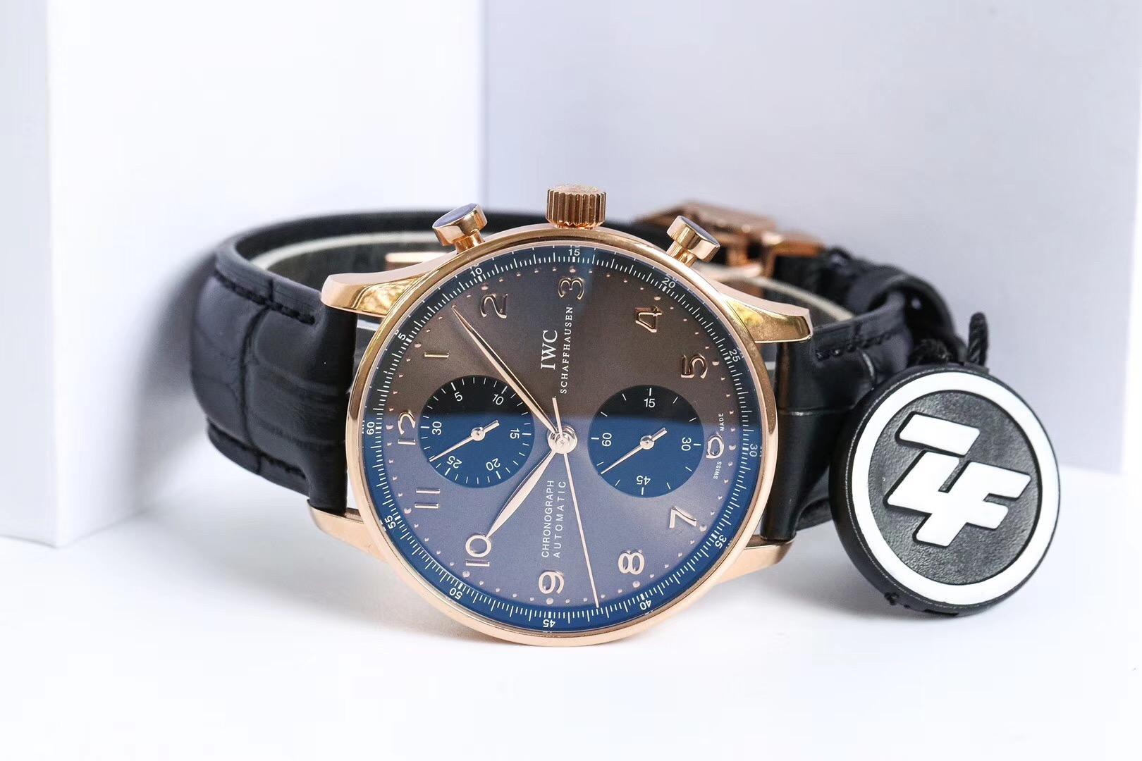 zf葡计万国葡萄牙蓝针IW371446复刻表