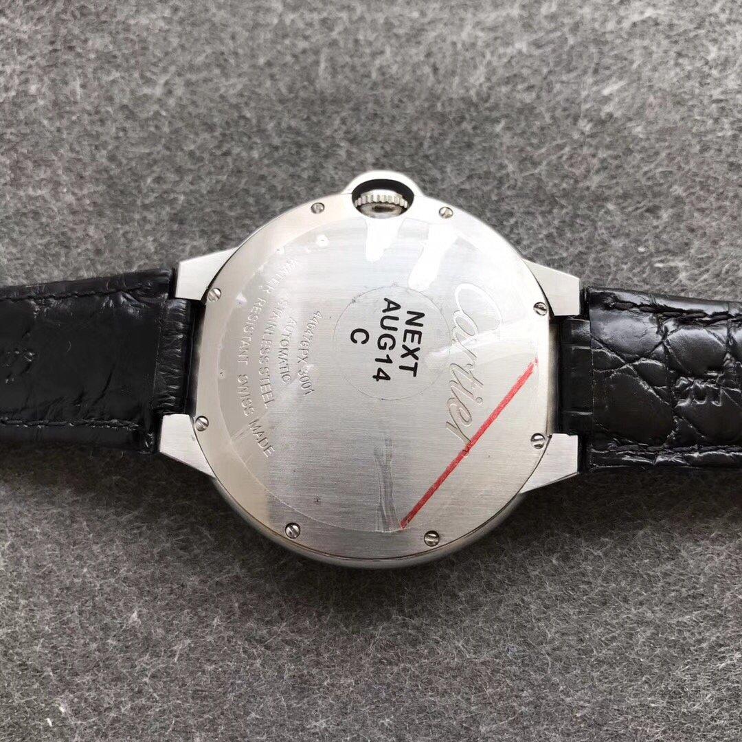 卡地亚高端定制满钻42mm蓝气球复刻表