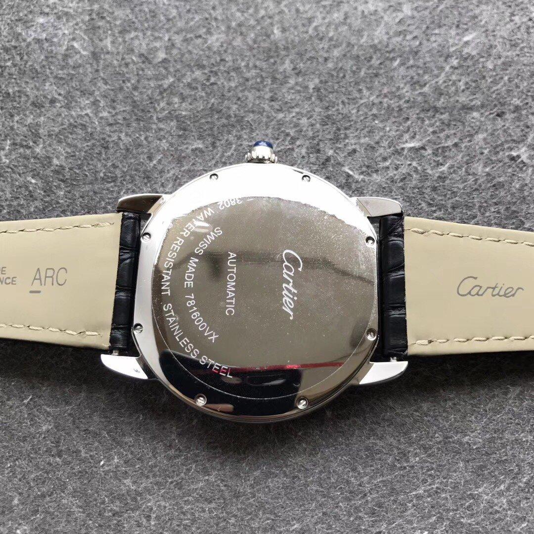 TW厂卡地亚伦敦SOLO系列超薄正装复刻男表