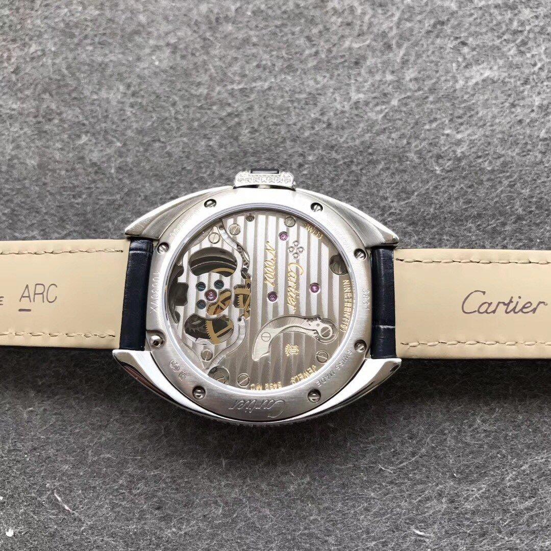TF卡地亚钥匙系列满钻壳35直径复刻表