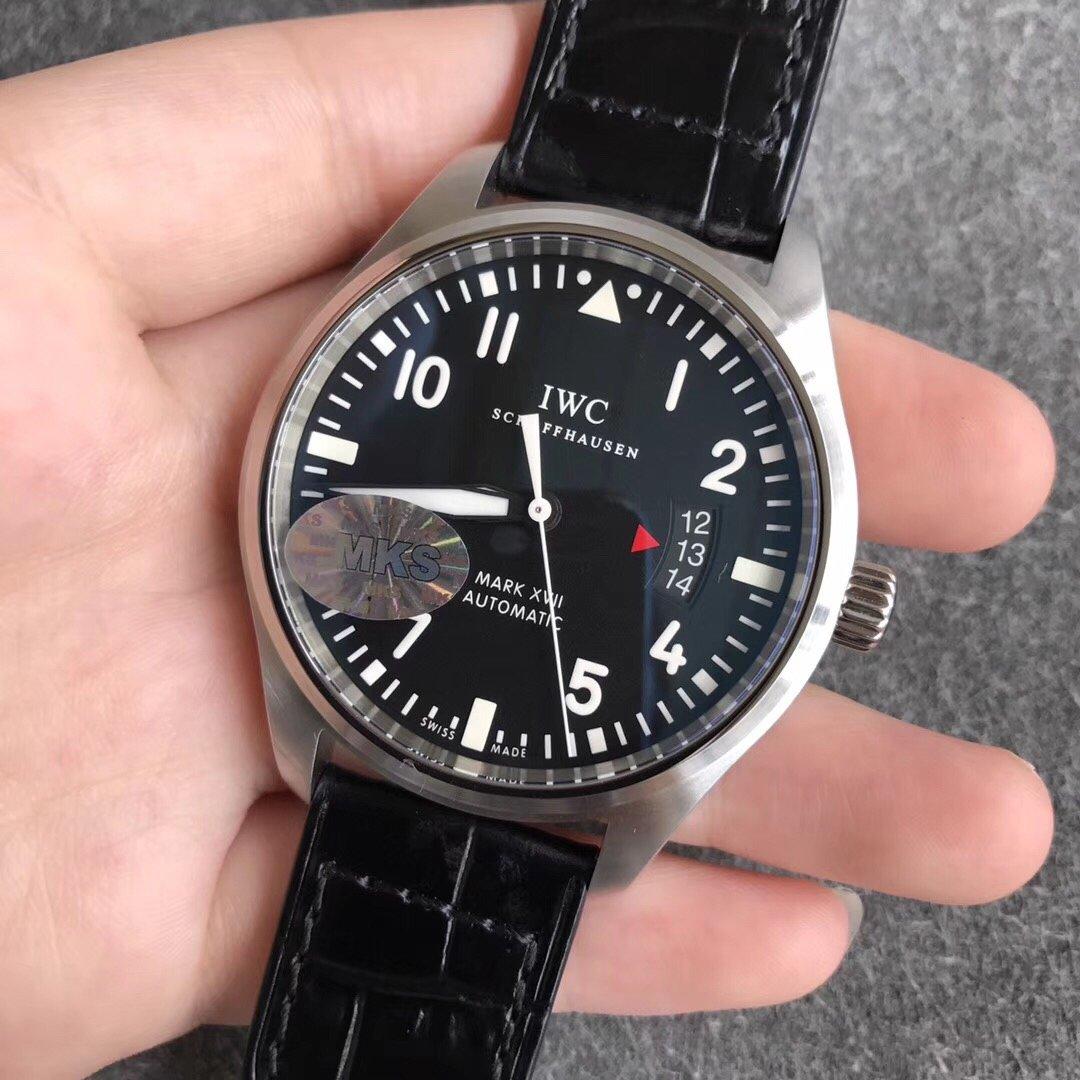 MKS万国飞行员系列马克十七复刻手表