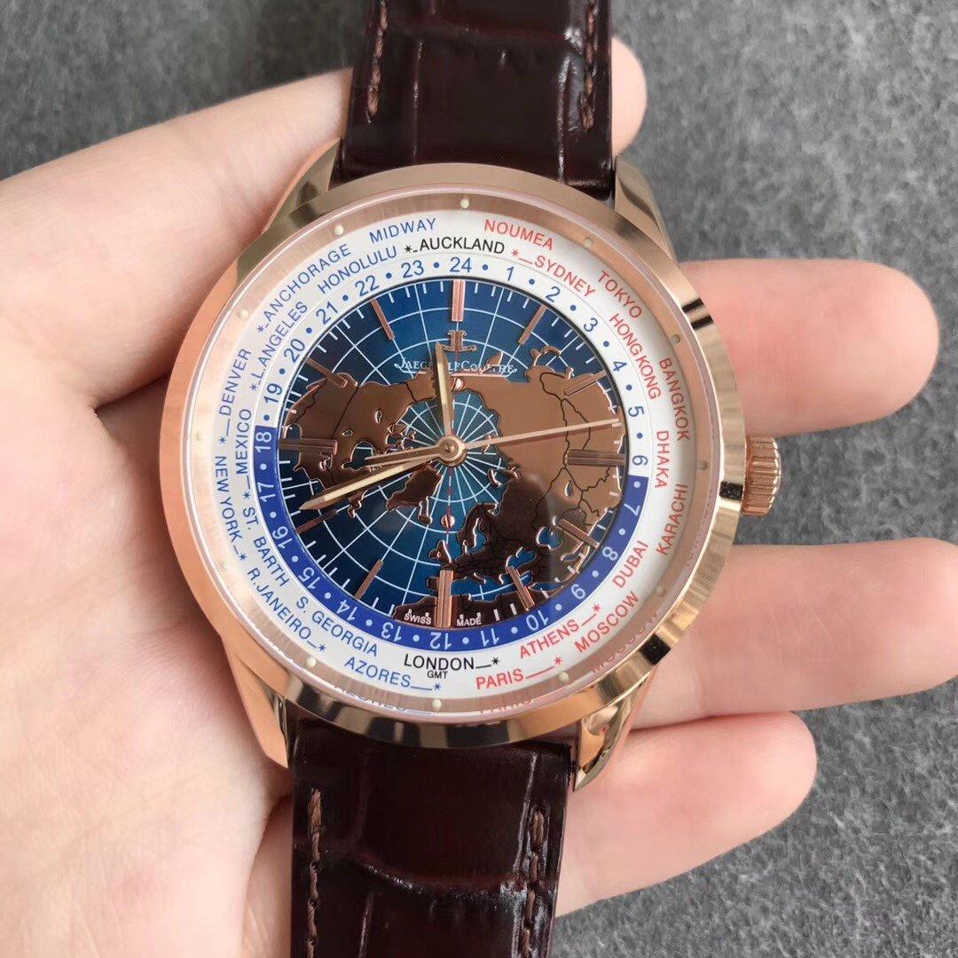 积家地球物理天文台复刻系列环球旅行腕表