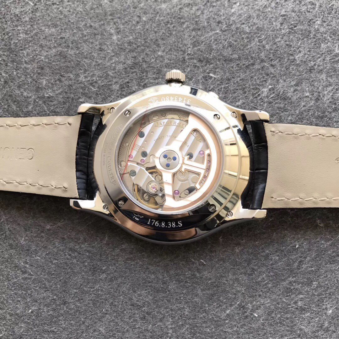 ZF积家大师复刻系列小丑蓝盘手表