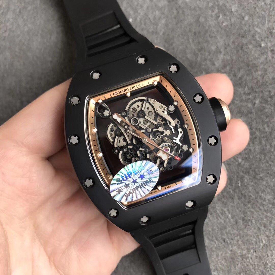 KV理查德米尔RM055陶瓷镂空机械复刻表
