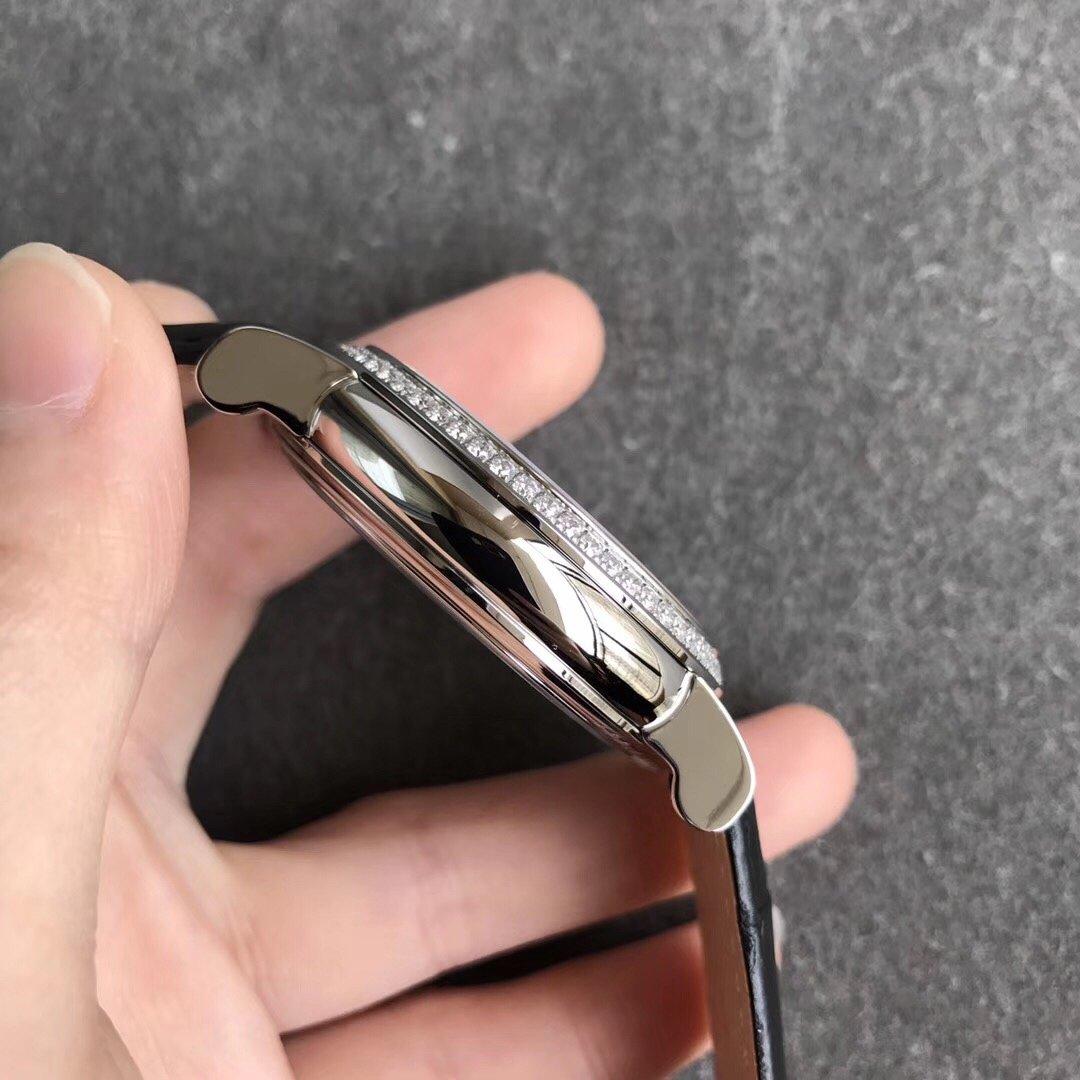TW法兰克穆勒镂空陀飞轮满天星机械皮带手表