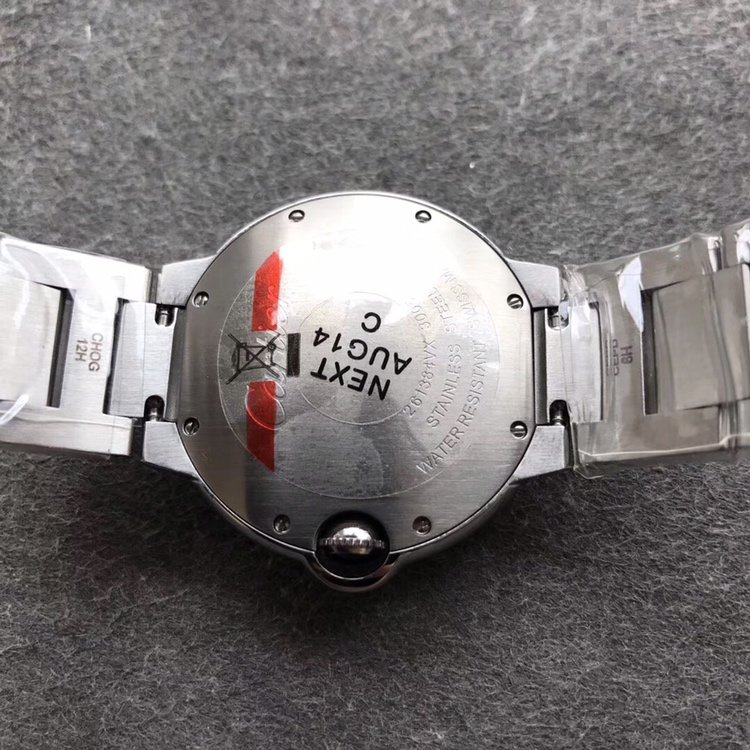 卡地亚蓝气球方钻满天星女士手表36直径复刻表