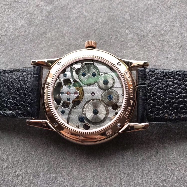 积家大师系列复刻真陀飞轮 半自动手表