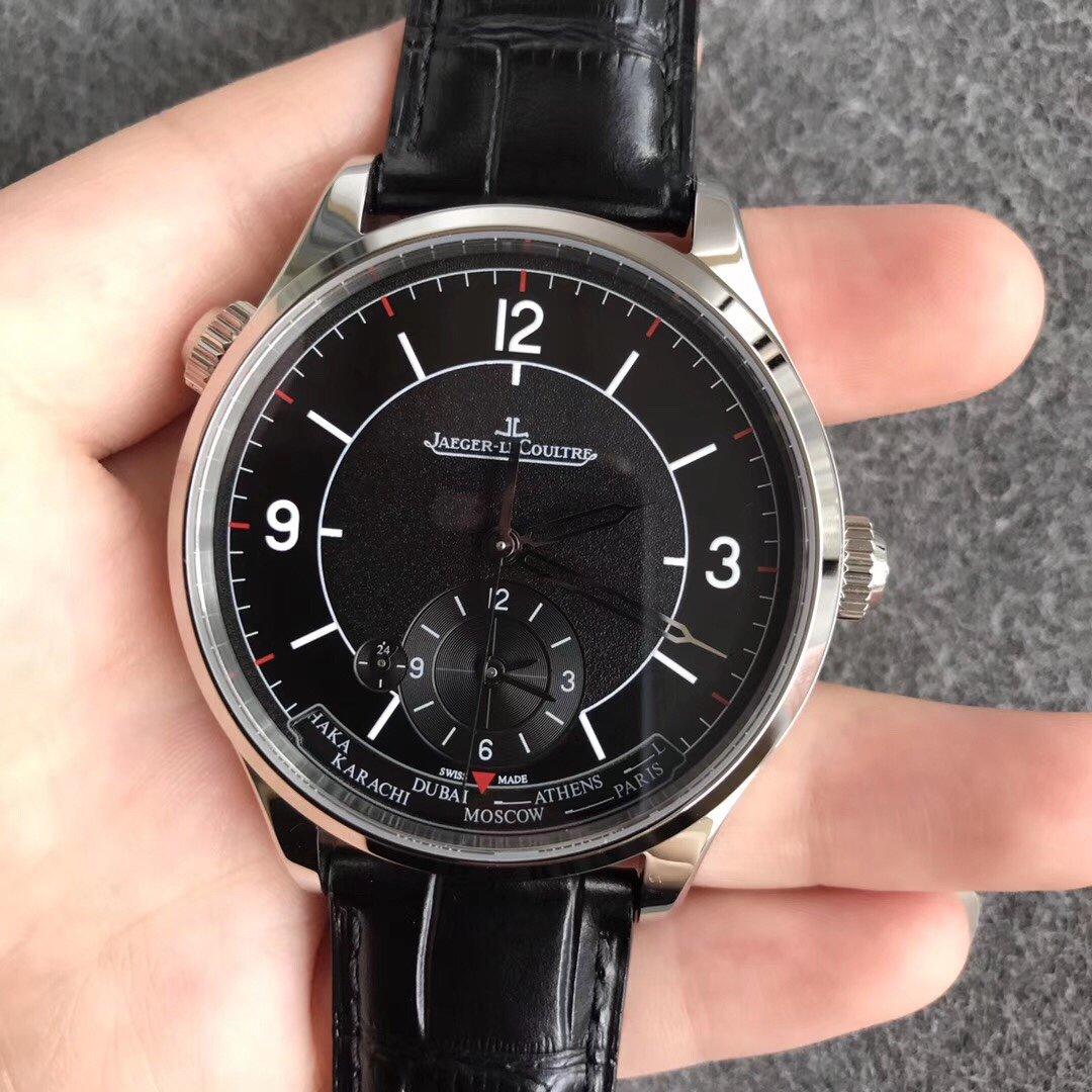 积家地理学家大师复刻93975双时区手表