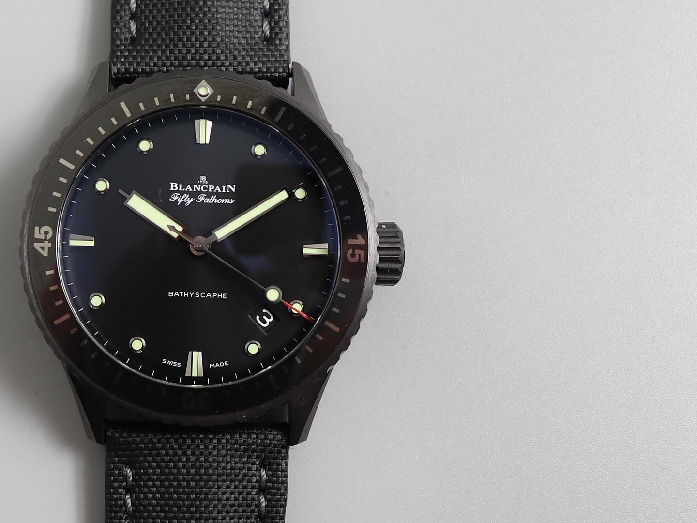 zf厂宝珀50噚顶级复刻表陶瓷打造潜水神器复刻表