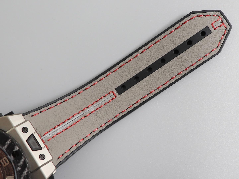 V6宇舶法拉利顶级复刻表钛金碳纤维45表盘运动款