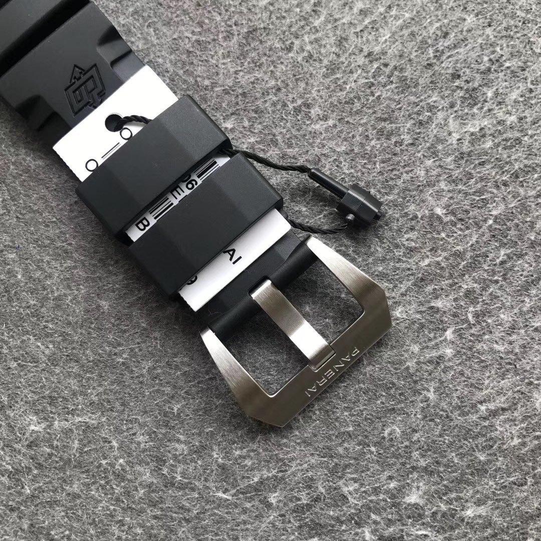 vs厂沛纳海复刻表pam00683新款 黑盘夜光防水