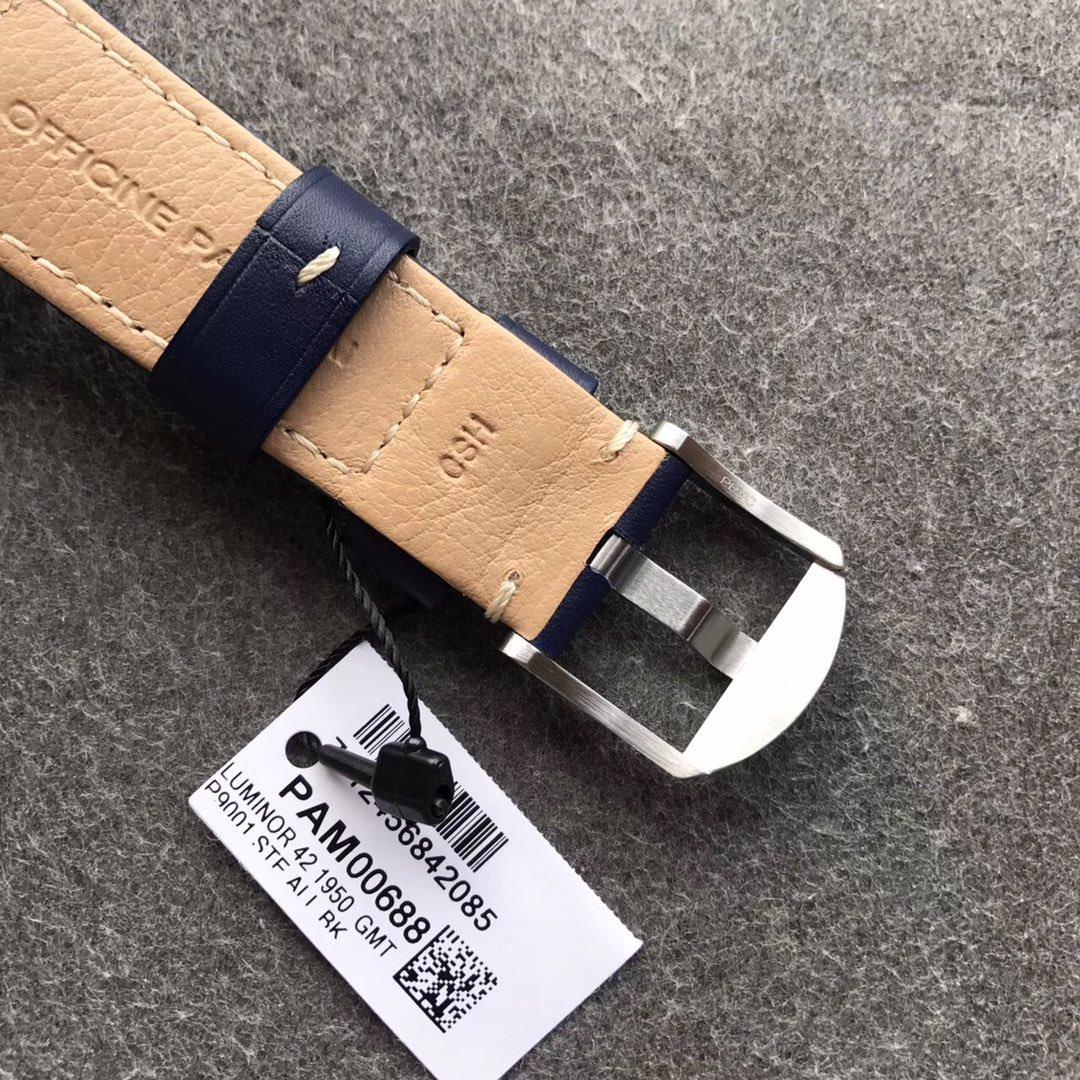 vs厂沛纳海pam00688深邃蓝盘42mm gmt功能 顶级复刻
