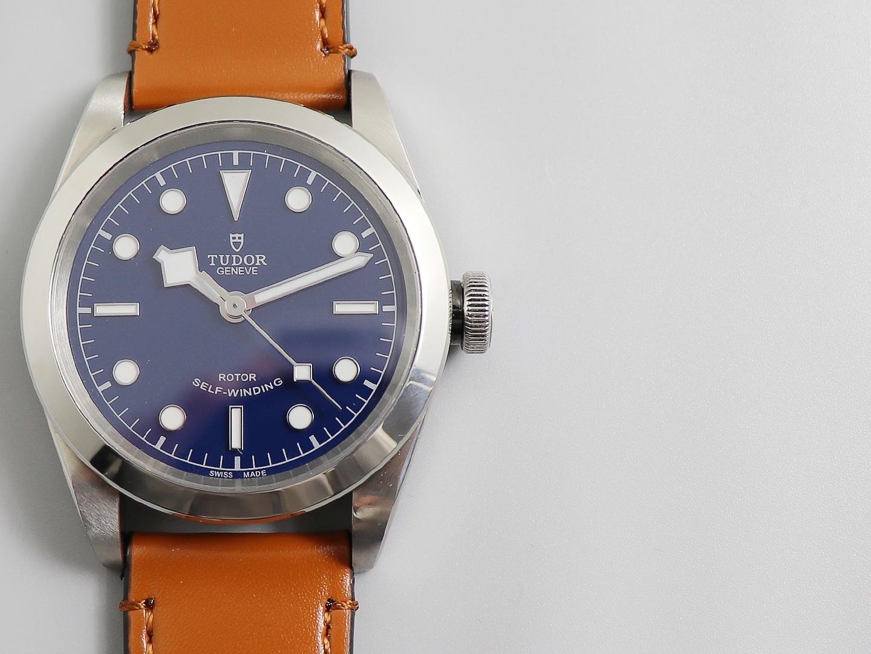 帝舵碧湾系列41mm男士商务休闲机械腕表