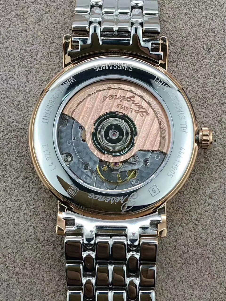 复刻手表浪琴瑰丽男士优雅机械手表l4.921.4