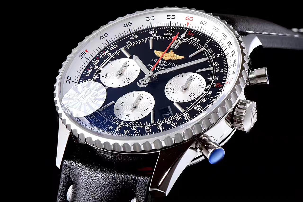 百年灵航空计时系列 43毫米直径男士腕表