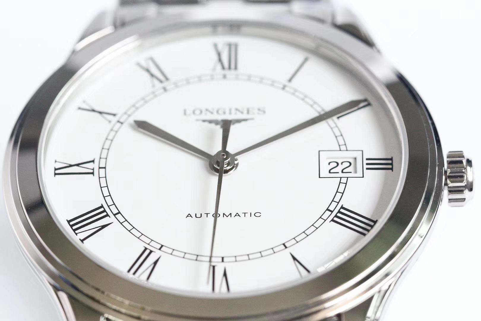 浪琴军旗系列复刻男士机械手表