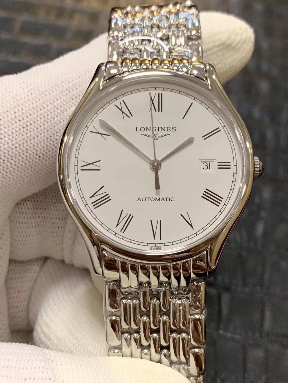 浪琴复刻手表律雅系列经典男士机械表