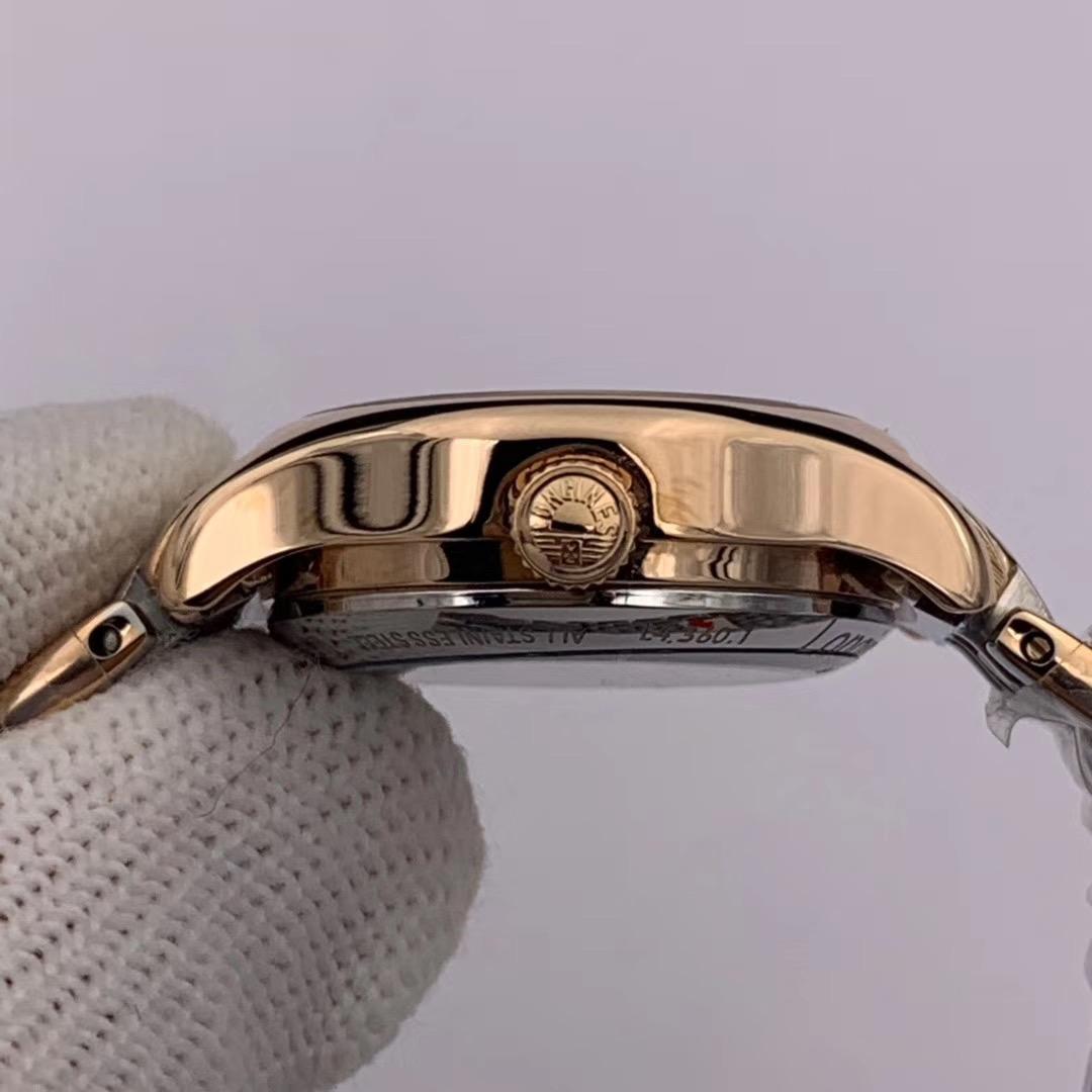 浪琴律雅系列女士机械复刻手表