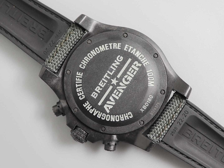 gf百年灵复仇者飓风系列45mm计时码表
