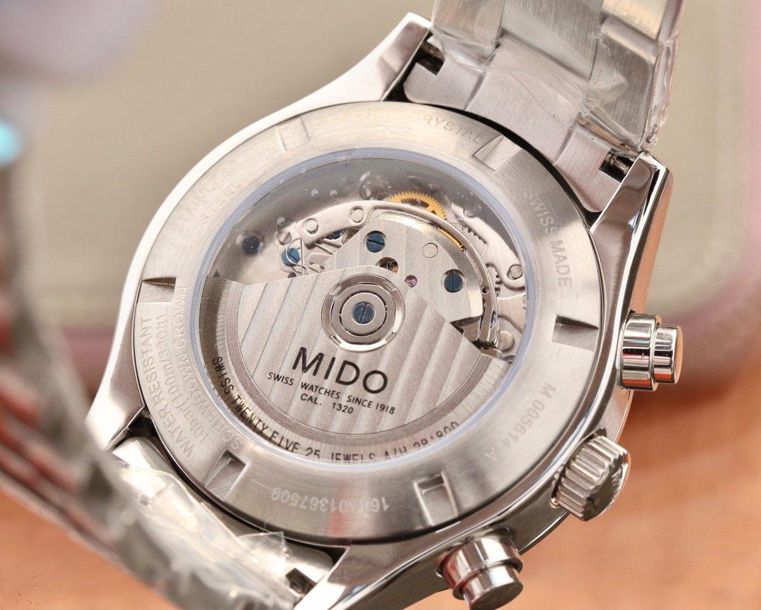 美度指挥官计时系列男士机械腕表