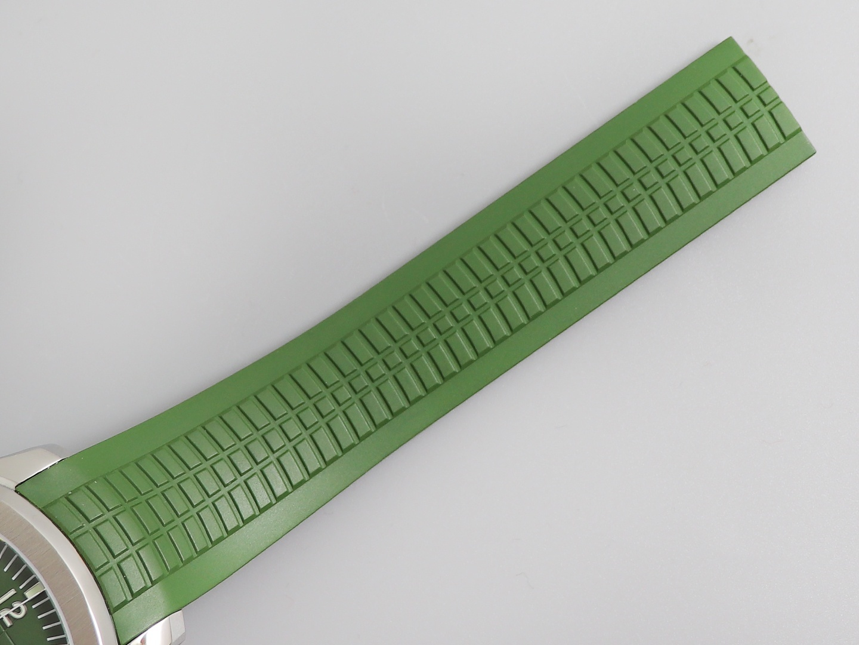 zf百达翡丽复刻表AQUANAUT系列5168G-010 军绿色