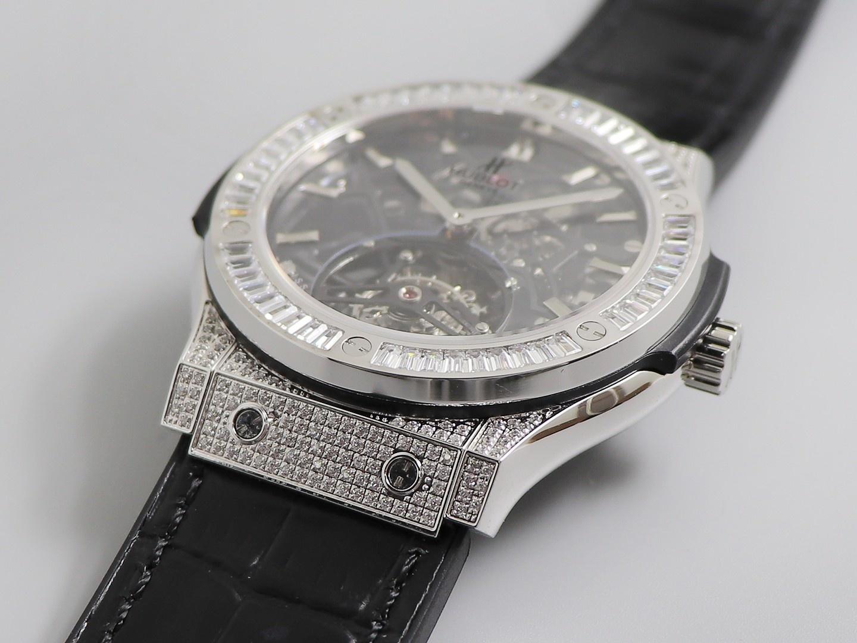 JB宇舶(恒宝)经典融合陀飞轮复刻表镂空机械男士手表