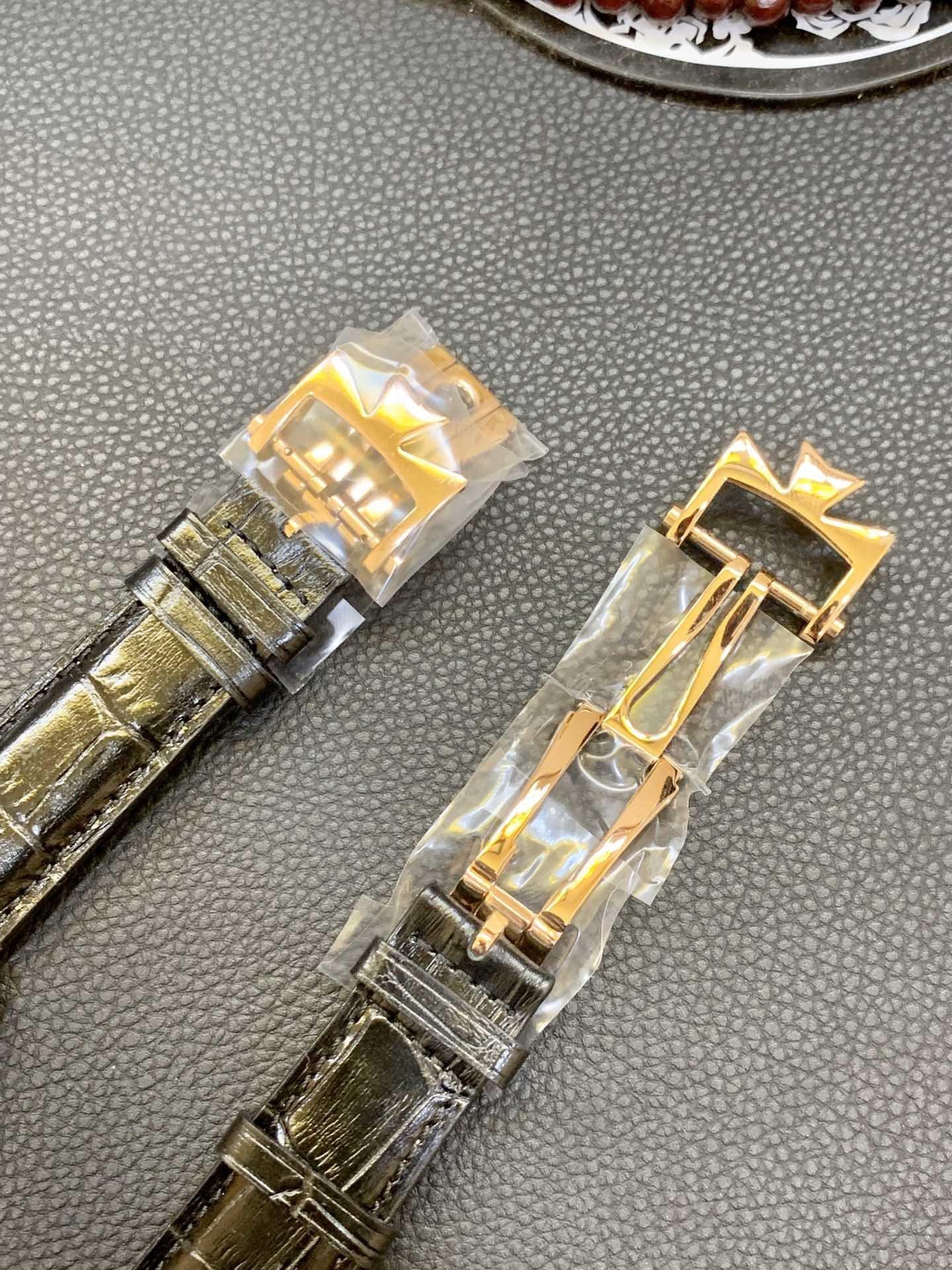 江诗丹顿陀飞轮18k金表不掉色 支持定制真金真钻